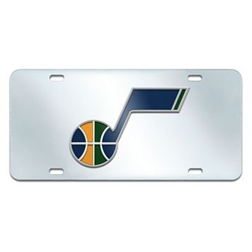Utah Jazz Mirror-Style License Plate
