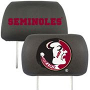 Florida State Seminoles 2 pc Head Rest Covers