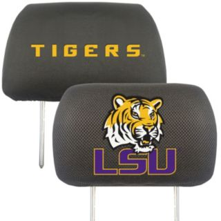 LSU Tigers 2-pc. Head Rest Covers