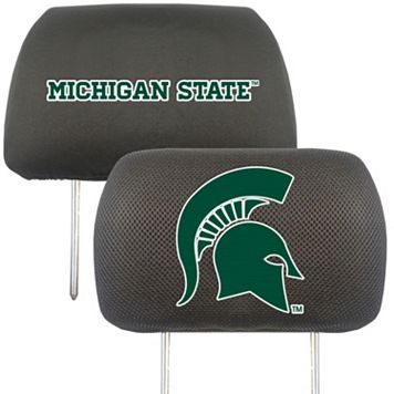 Michigan State Spartans 2-pc. Head Rest Covers