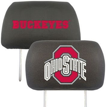 Ohio State Buckeyes 2-pc. Head Rest Covers