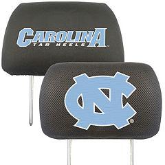 North Carolina Tar Heels 2-pc. Head Rest Covers