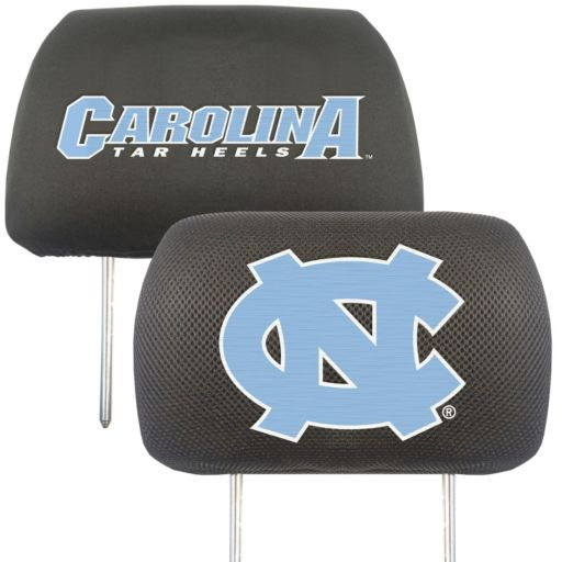 North Carolina Tar Heels 2-pc. Head Rest Covers