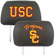 USC Trojans 2 pc Head Rest Covers