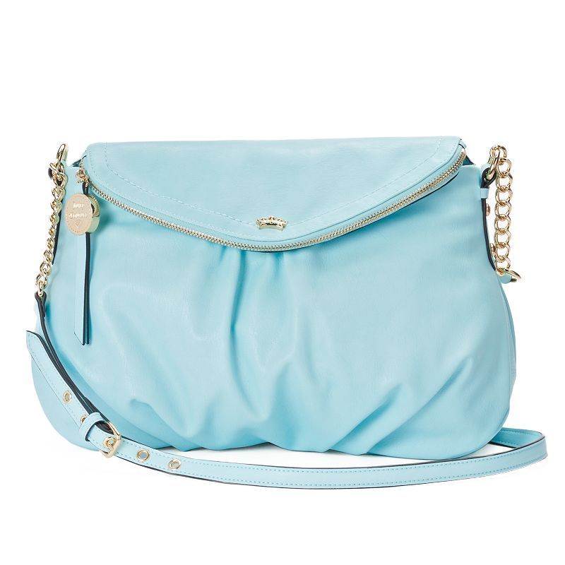 Juicy Couture Traveler Flap Crossbody Bag, Women's, Blue (Navy)