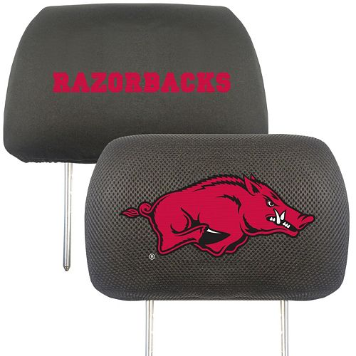 Arkansas Razorbacks 2-pc. Head Rest Covers