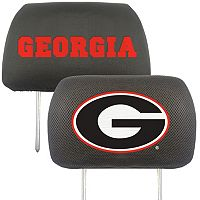 Georgia Bulldogs 2-pc. Head Rest Covers