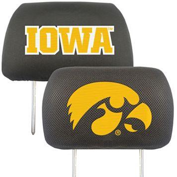 Iowa Hawkeyes 2-pc. Head Rest Covers
