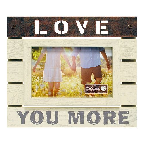New View Love You More 4 X 6 Frame