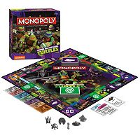 Teenage Mutant Ninja Turtles Monopoly Game by USAopoly