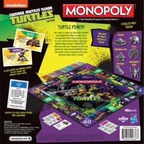 Teenage Mutant Ninja Turtles Monopoly Game by USAopoly