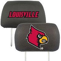 Louisville Cardinals 2-pc. Head Rest Covers