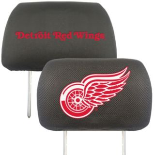 Detroit Red Wings 2-pc. Head Rest Covers