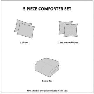 Intelligent Design Lilly Comforter Set
