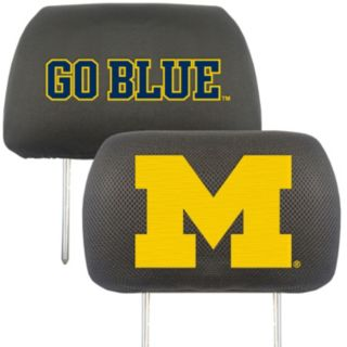 Michigan Wolverines 2-pc. Head Rest Covers