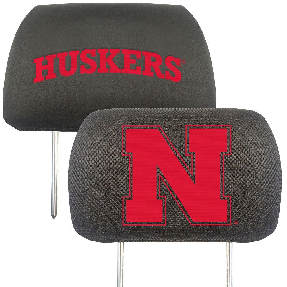 Nebraska Cornhuskers 2-pc. Head Rest Covers