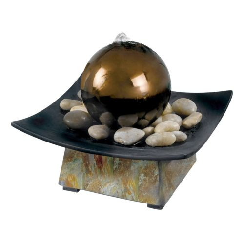 Sphere Indoor Table Fountain