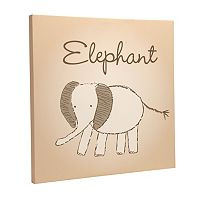 Wendy Bellissimo Sweet Safari Canvas Wall Art