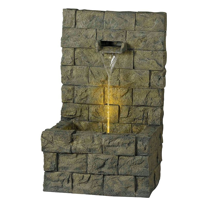 Garden LED Wall & Floor Outdoor Fountain
