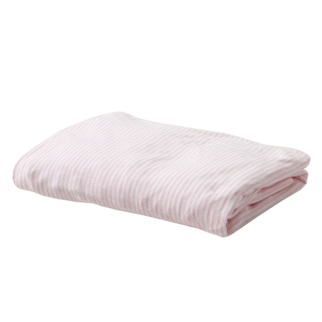 Burt's Bees Baby Organic Striped Changing Pad Cover