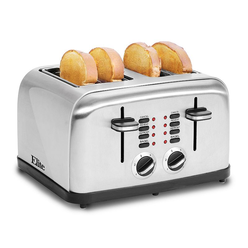 Elite Platinum 4-Slice Toaster
