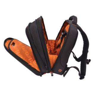 Traveler's Choice Compression-Molded EVA Expandable Laptop Backpack