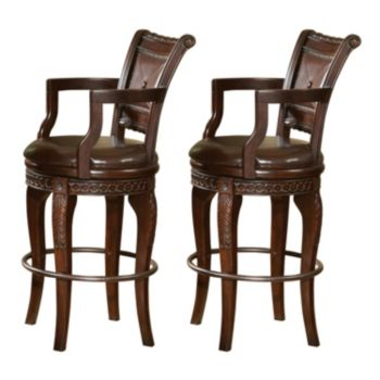 Antoinette 2 Piece Swivel Bar Chair Set