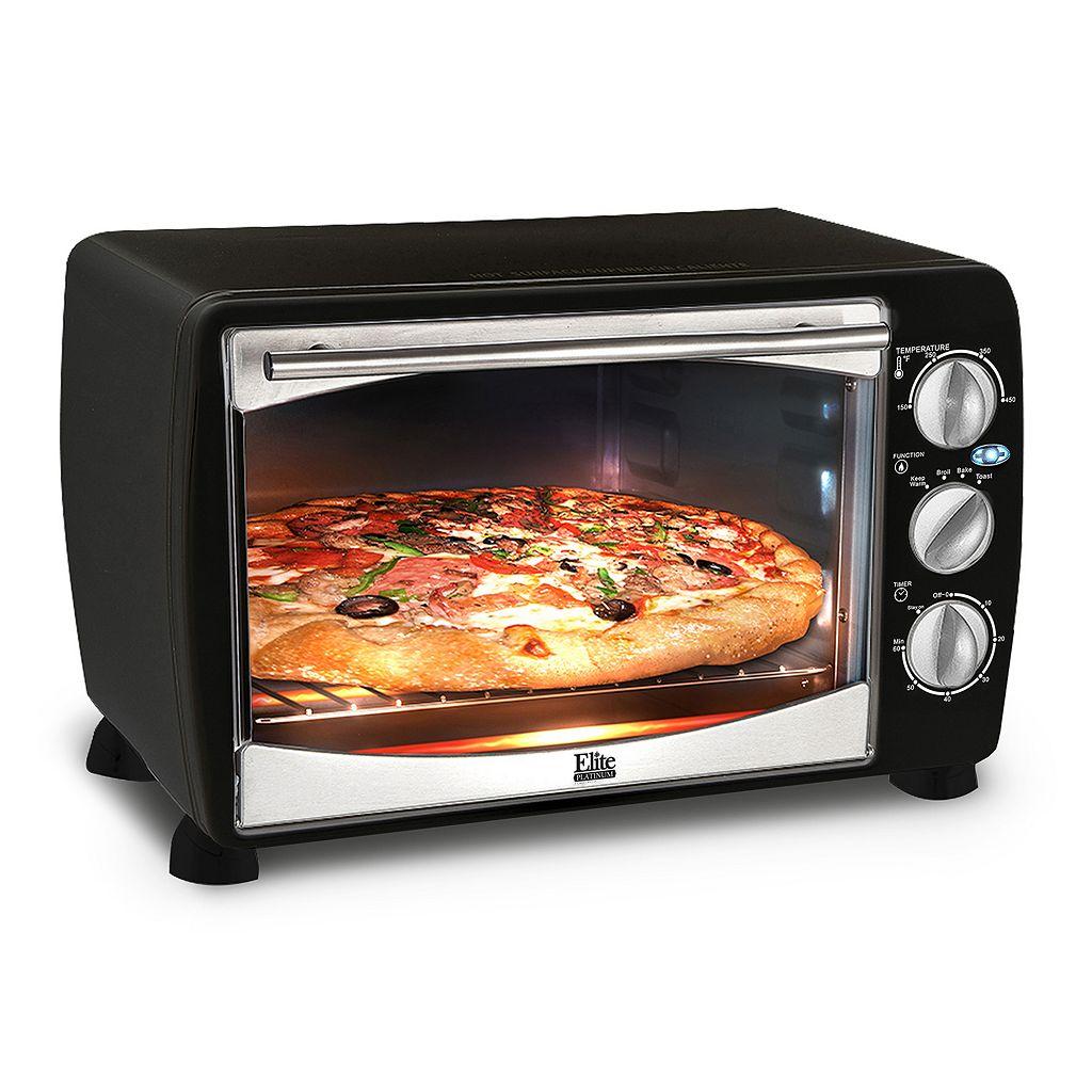Elite Platinum 6-Slice Toaster Oven With Broiler