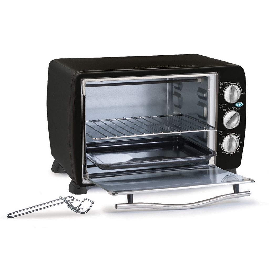 Elite Platinum 6-Slice Toaster Oven With Broiler