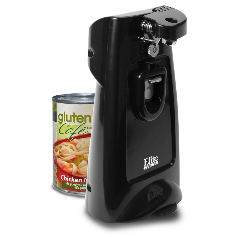 Elite Cuisine Extra Tall Deluxe Electric Can Opener