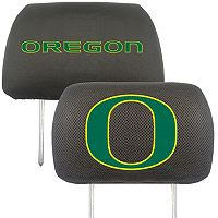 Oregon Ducks 2 pc Head Rest Covers