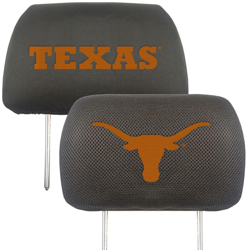 Texas Longhorns 2-pc. Head Rest Covers