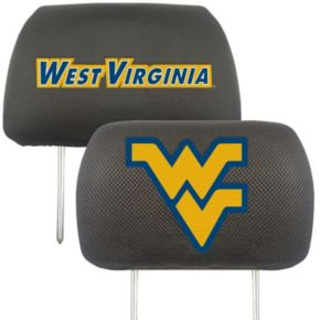 West Virginia Mountaineers 2-pc. Head Rest Covers