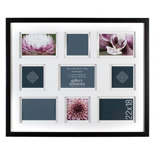 Gallery Solutions 9 Opening Collage Frame