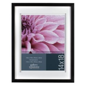 Gallery Solutions 14'' x 18'' Matted Frame