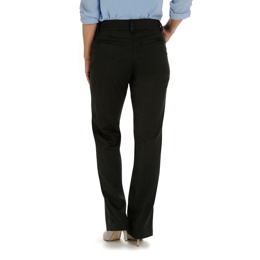 Women's Lee Maxwell Modern Fit Curvy Dress Pants