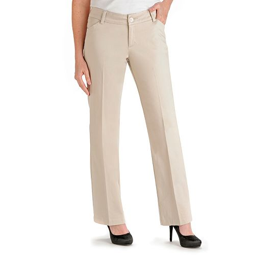 Lee Maxwell Modern Fit Curvy Dress Pants