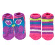 Owl 2-pk. Slipper Socks - Girls