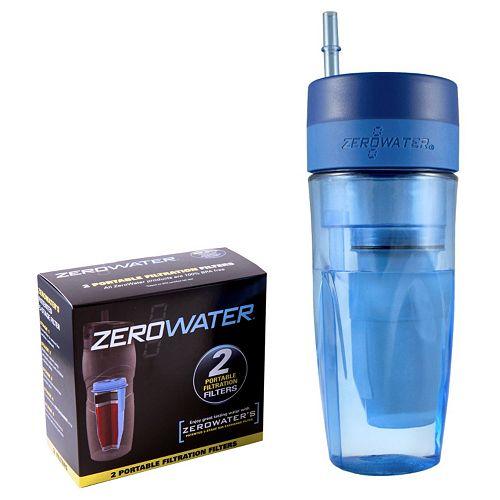 ZeroWater 26-oz. Filtration Tumbler & Filter Set