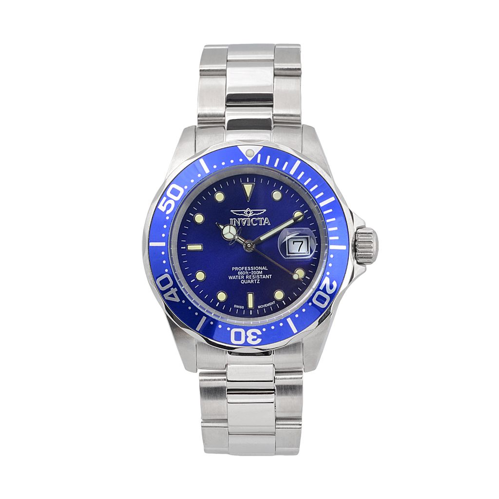 Invicta Men's Pro Diver Stainless Steel Watch - K-IN-9308