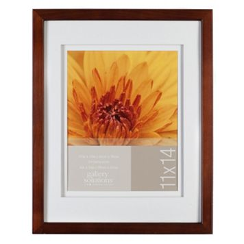 Gallery Solutions 11'' x 14'' Matted Frame