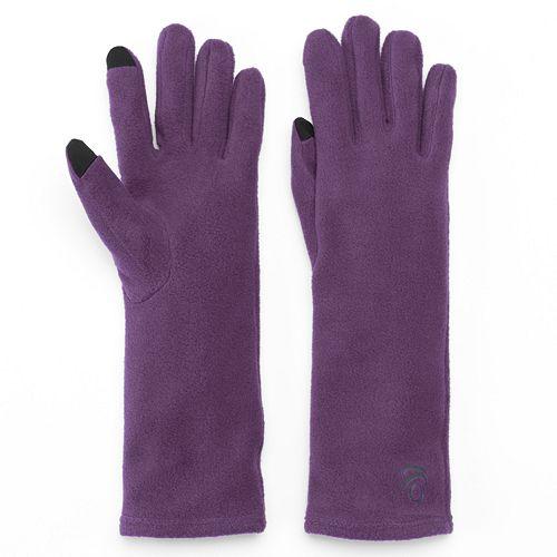 1f7d2e161 Cuddl Duds Unlined Fleece Texting Gloves