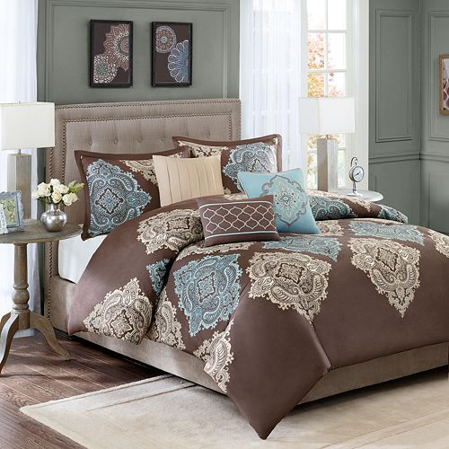 Madison Park Barnett 6-pc. Duvet Cover Set