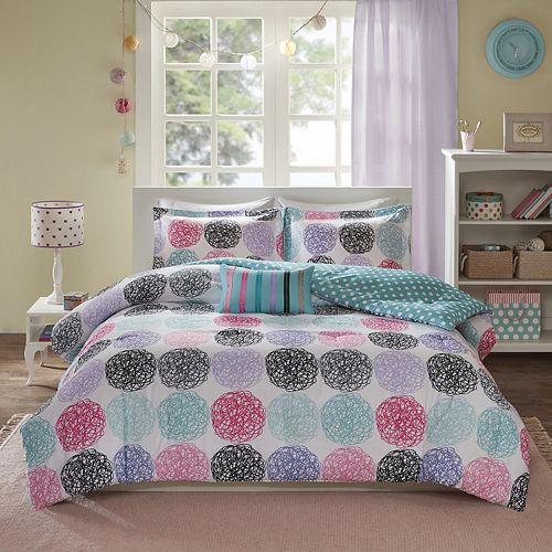 Mi Zone Audrina Reversible Comforter Set