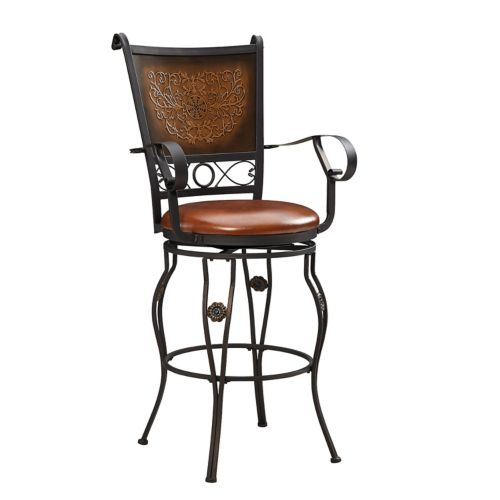 Big Amp Tall Stamped Counter Stool