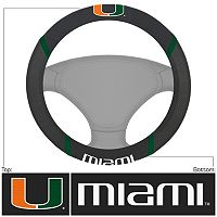 Miami Hurricanes Steering Wheel Cover