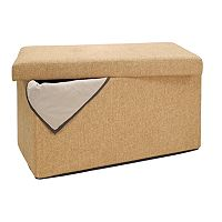 Simplify Folding Storage Ottoman