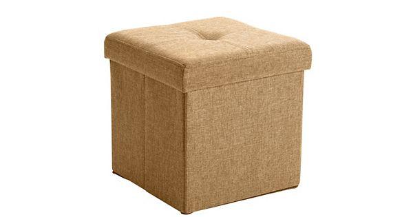- Simplify Square Folding Storage Ottoman