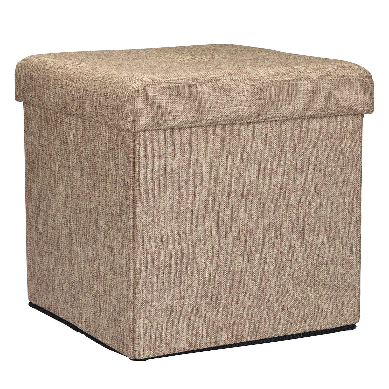 sc 1 st  Kohlu0027s & Simplify Square Folding Storage Ottoman