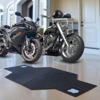 North Carolina Tar Heels Motorcycle Mat